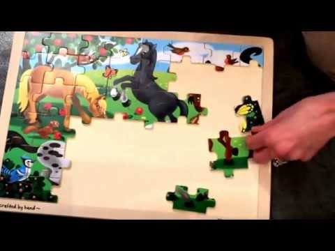 Melissa And Doug Frolicking Horses Puzzle