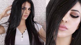 طريقتي المفضله بتسريح شعري دون ان اخسر كثافته - منتجات للشعر  نورس ستار