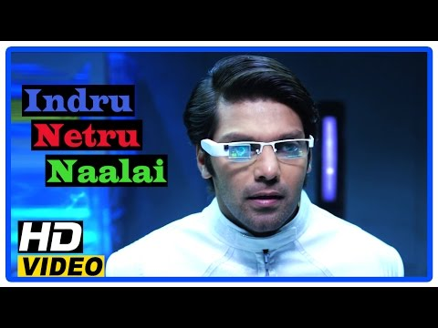 Indru Netru Naalai Tamil Movie | Scenes | Time travel machine fails to return | Arya