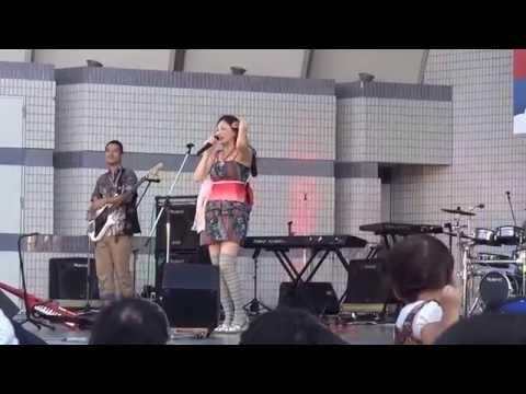 japanese group dangdut ( jangan gila donk ) in asean festival yoyogi park