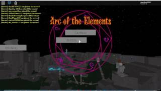 Metal vs. Nova!   Arc of the Elements Roblox