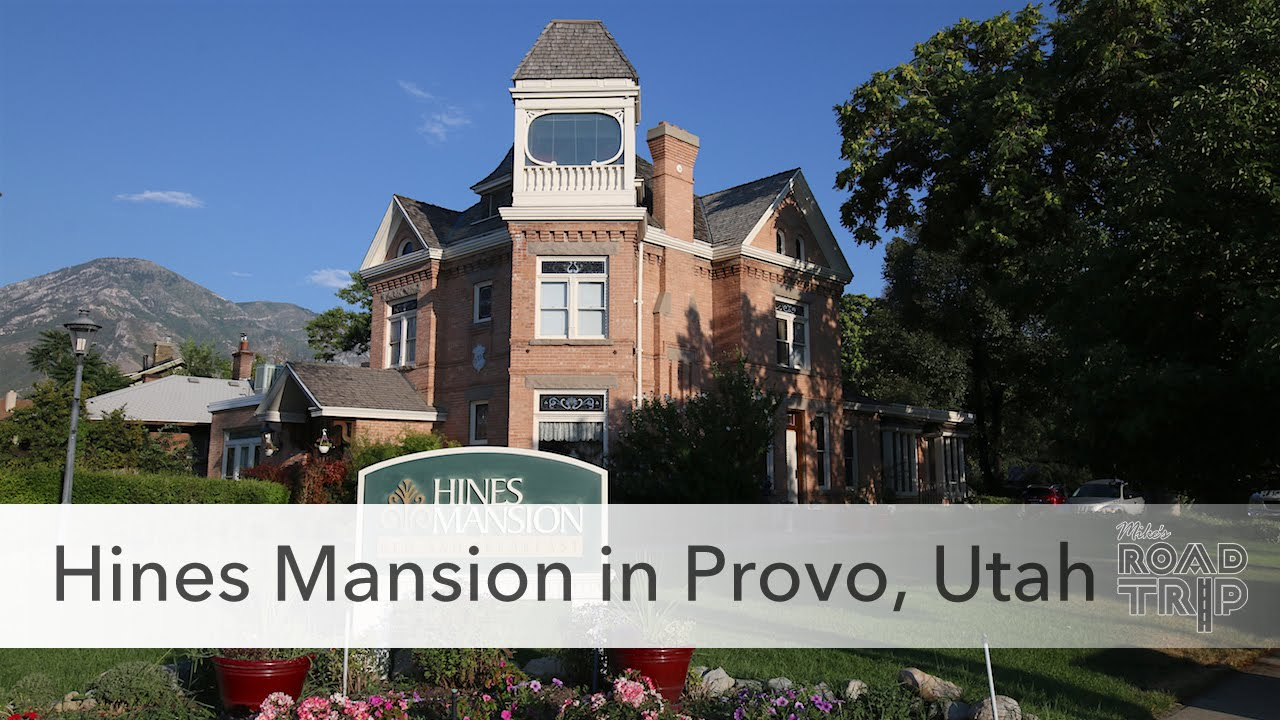 hines mansion bed and breakfast in provo, utah - youtube