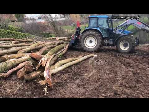 Treuil forestier MARY AGRI 10 tonnes avec radio