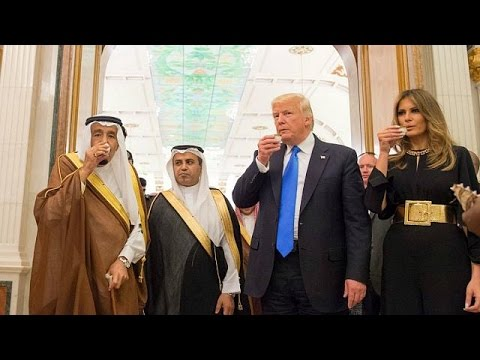 Trump signs big money deals on Saudi trip