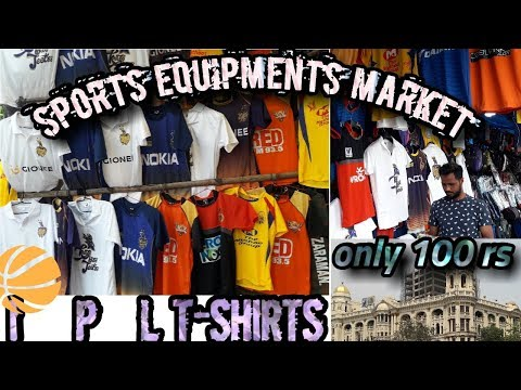 CHEAPEST SPORTS EQUIPMENT'S IN INDIA/{IPL T-SHIRTS}||BY SUNILEMPIRE