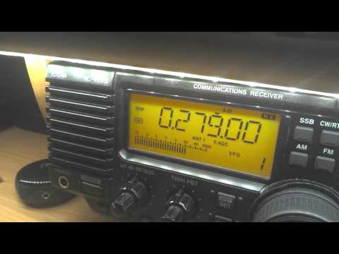 Radio Belarus  279 kHz, 20:58 UTC - final two minutes on AM???