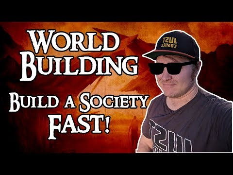 D&D World Building: Build a Society Fast!