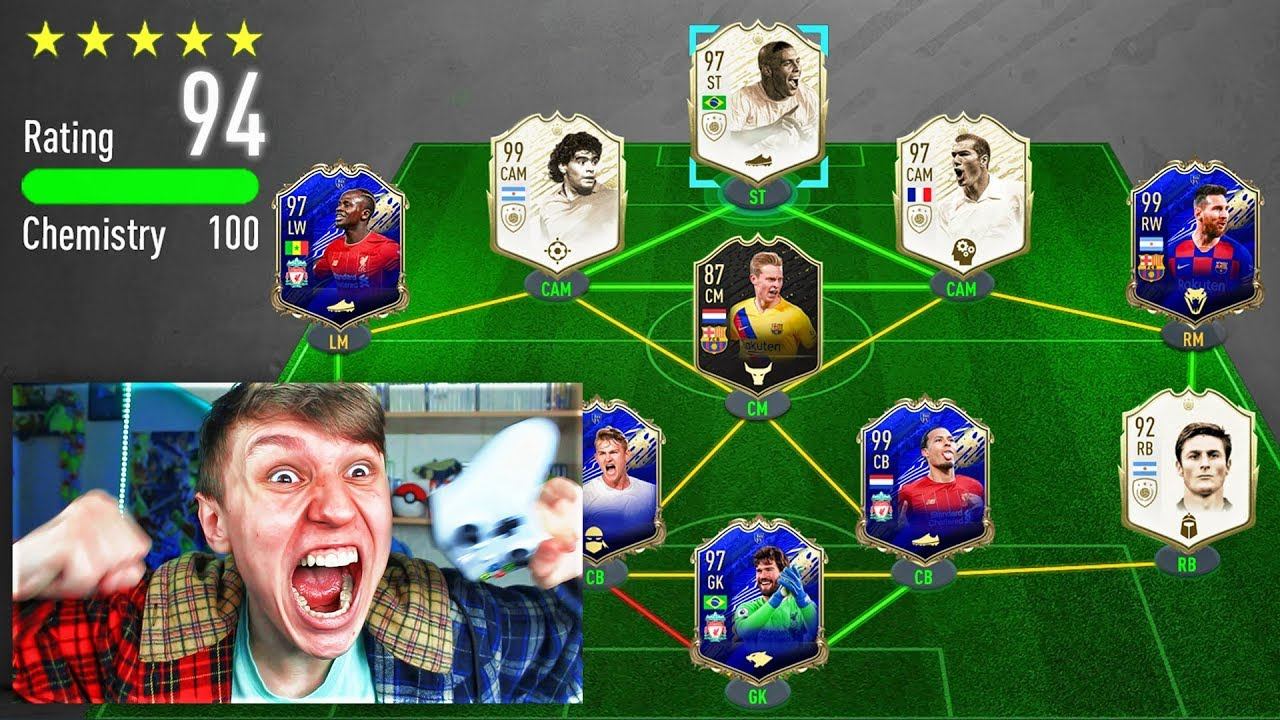 194 RATED!! - WORLDS FIRST 194 FUT DRAFT!! (FIFA 20) thumbnail