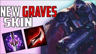 *NEW* GRAVES PRAETORIAN SKIN.. SEASON 9 FULL LETHALITY JUNGLE GRAVES