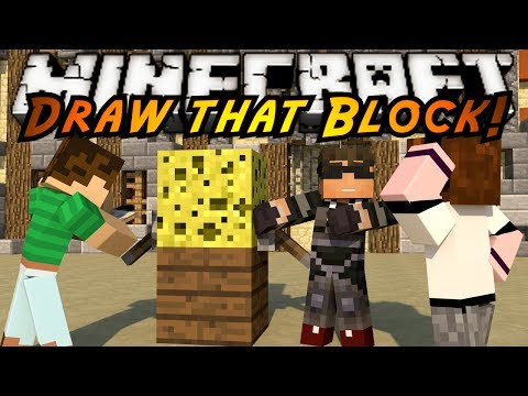 Minecraft Mini-Game : DRAW THAT THING AND STUFF