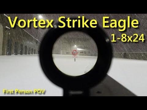 Vortex Strike Eagle 1-8x24 AR-BDC2 First Person POV - C_Does