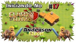 INICIANDO NO - CLASH OF CLANS! #17 COMO CONSEGUI MUITAS GEMAS FÁCIL ( DICAS TOP )