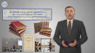 Уроки русского Стили речи