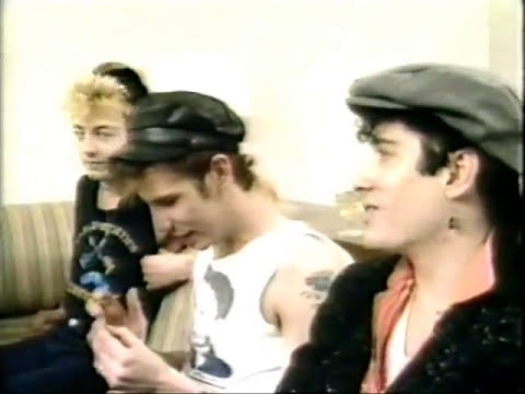 The Stray Cats Interviewed by Regis in New York City