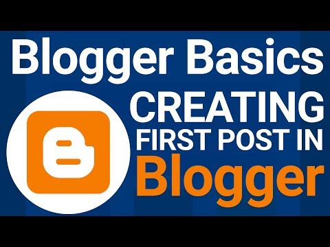 Blogger Tutorial  | How To Setup Blogger And Create First Post - Hindi