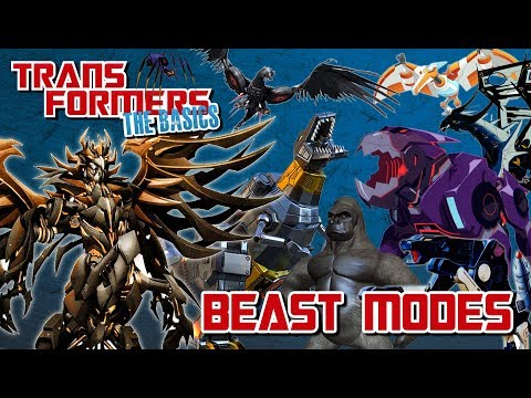 TRANSFORMERS: THE BASICS on BEAST MODES