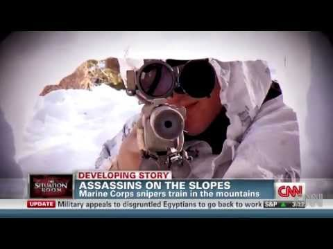 Marine snipers CNN video featuring an interview with Norseman