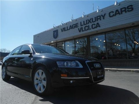 2008 Audi A6 [4.2] in review - Village Luxury Cars Toronto