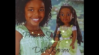 "Disney Dolly and Me Princess Tiana 18"" doll review"