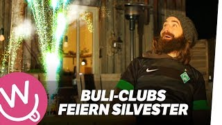 Bundesliga-Clubs feiern Silvester