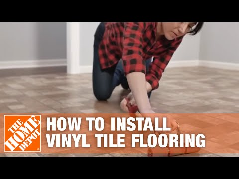 how-to-install-peel-and-stick-vinyl-tile-flooring-|-the-home-depot
