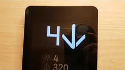 1 day old! Nice 2019 Kone Nanospace MRL traction elevator at Ahdinkatu 27B, Kouvola, Finland
