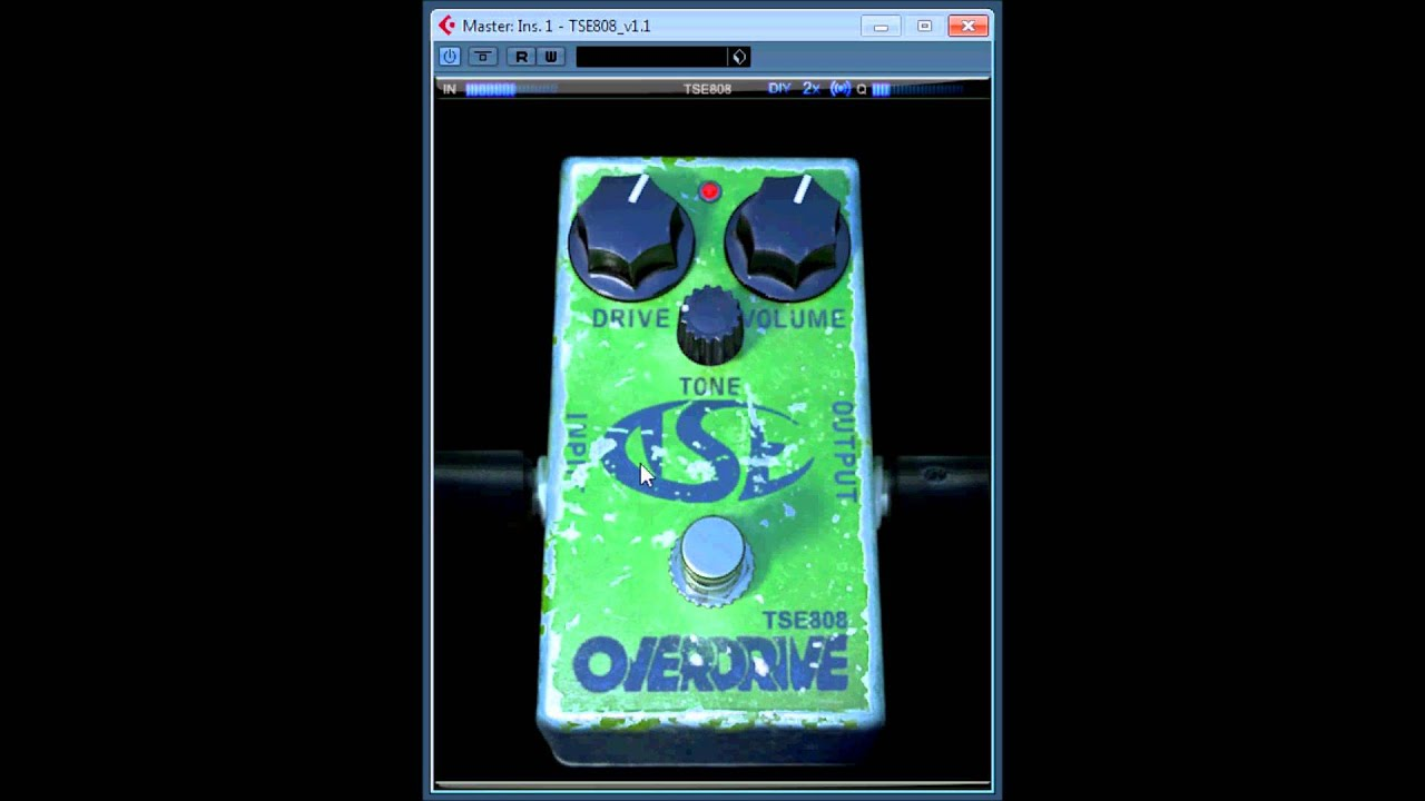 Tse 808 tube screamer pedal, free plugin | masters of music.