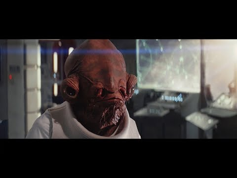 The Last Jedi Re-Edit Admiral Ackbar Sacrifice 1080p HD