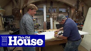How to Patch a Doorknob Hole With a Dutchman - This Old House