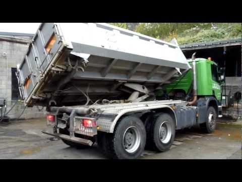 Camion Bi-Benne 6X4 Scania P380 2-Way 6X4 Tipper Truck (2008, 70.000 km)