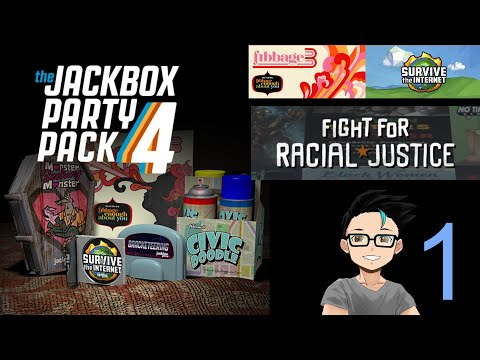 """But would you DIE for tacos?"" - Jackbox Party Pack 4 with Friends! (part 1) 