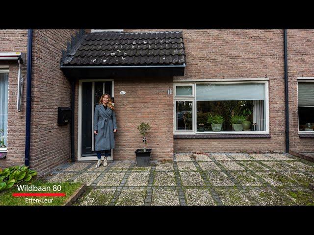 Nieuw in de verkoop; Wildbaan 80 te Etten Leur