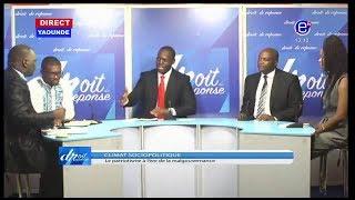 DROIT DE RÉPONSE DU 28/04/2019(CRISE ANGLOPHONE/SITUATION POLITIQUE CAMEROUN/PAUL BIYA)