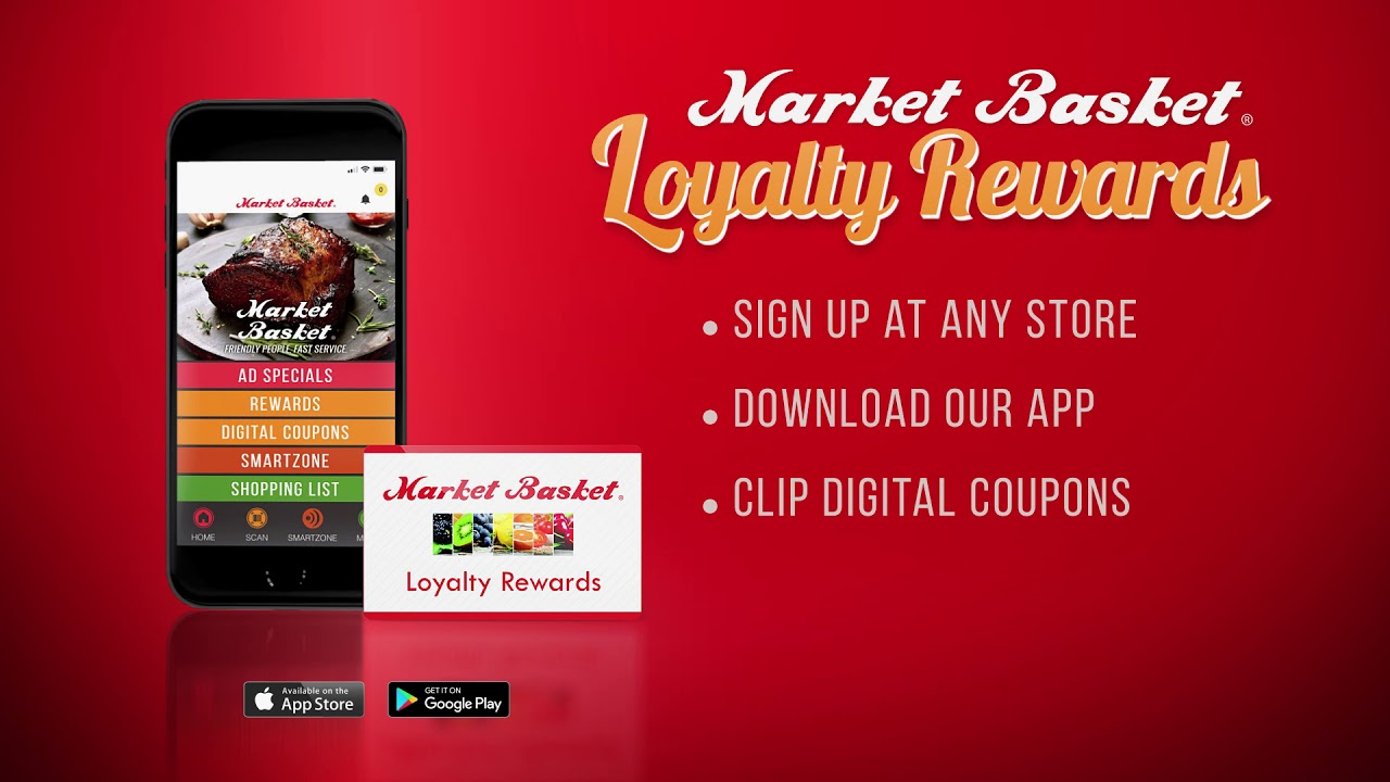 Loyalty Rewards at Market Basket