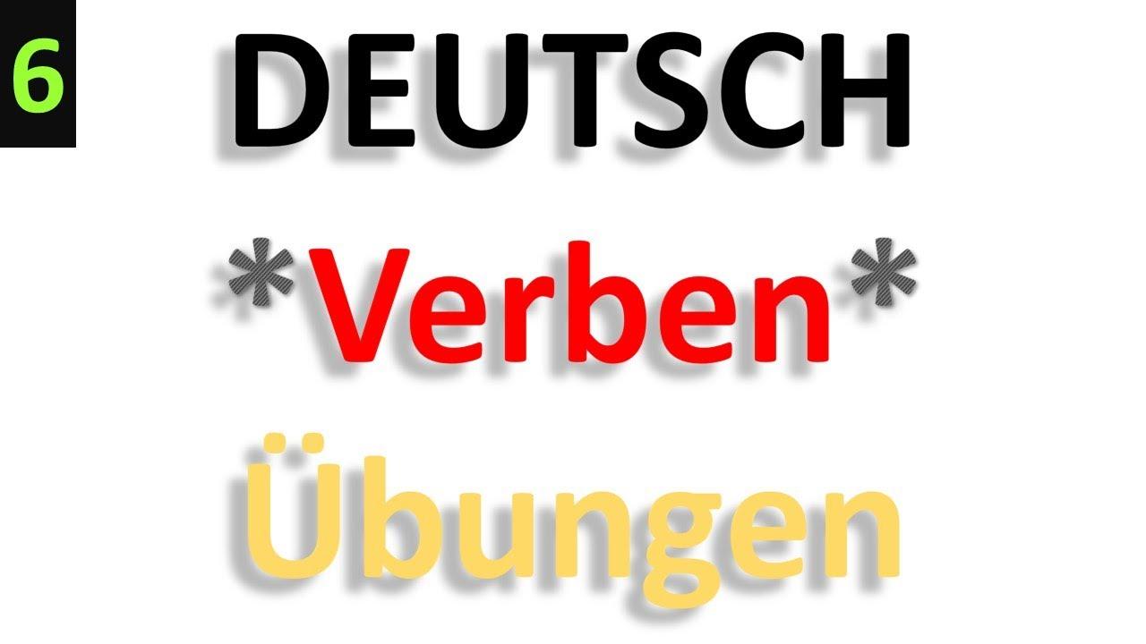 Tre übungen Youtube Deutsch