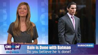 Christian Bale Talks About The Dark Knight Rises Cast and the End of the Saga