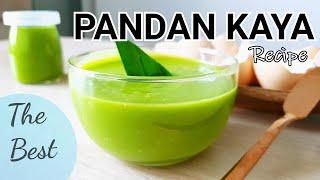 滑溜溜的 班兰咖椰 ♥️ (Coconut jam ) Best Pandan Kaya Recipe  #littleduckkitchen