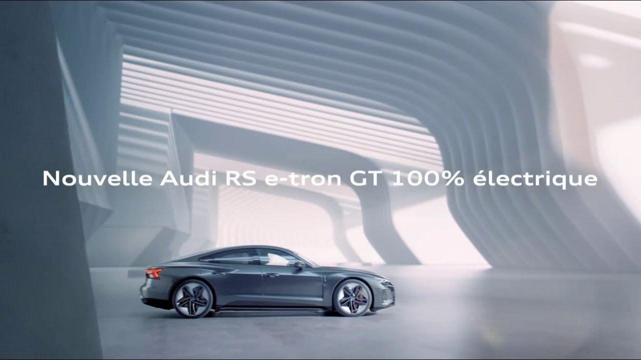 """Musique de la pub Nouvelle Audi RS e-tron GT 100% électrique """"le futur nous anime""""  2021"""
