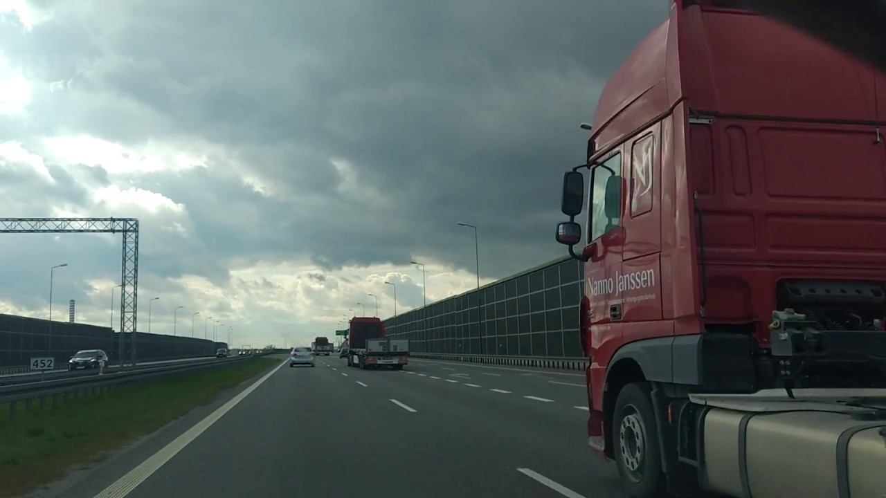 roads in Poland -  Easter rush - Bypass  of Warsaw & A2 highway