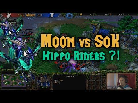 Warcraft 3 | Moon (N) vs SoK (H) | HIPPOGRYPH RIDERS