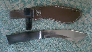краткий обзор и тест ножа