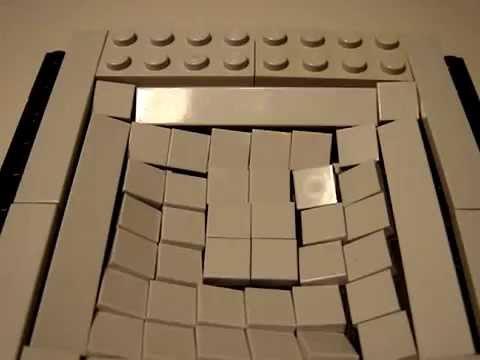 Lego Flexible Floor Technique Youtube