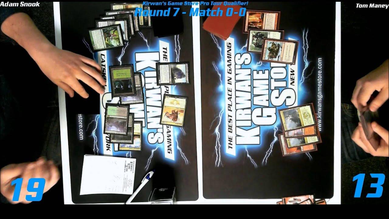 MTG Magic PTQ Standard Catskill NY Round 8 Game 1 122014