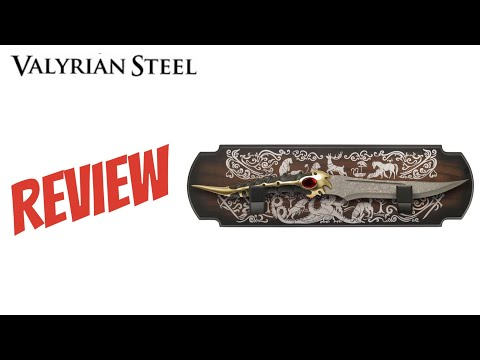 Catspaw Blade Valyrian Steel Review Game Of Thrones (Longclaw Comparison)