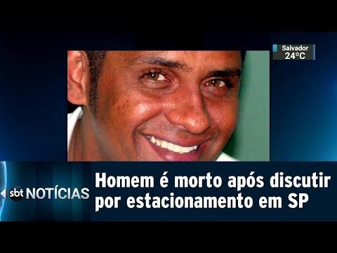 Homem é morto após discutir por vaga de estacionamento na Grande SP | SBT Notícias (20/07/18)