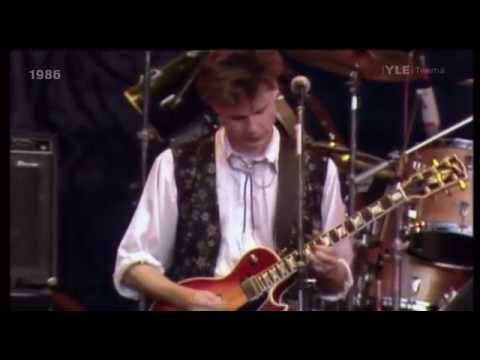Big Country - 'Look Away' / 'In A Big Country' - live Finland 1986