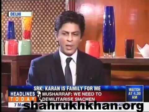 """Karan and I sleep together"": Shahrukh Khan interview 2010"