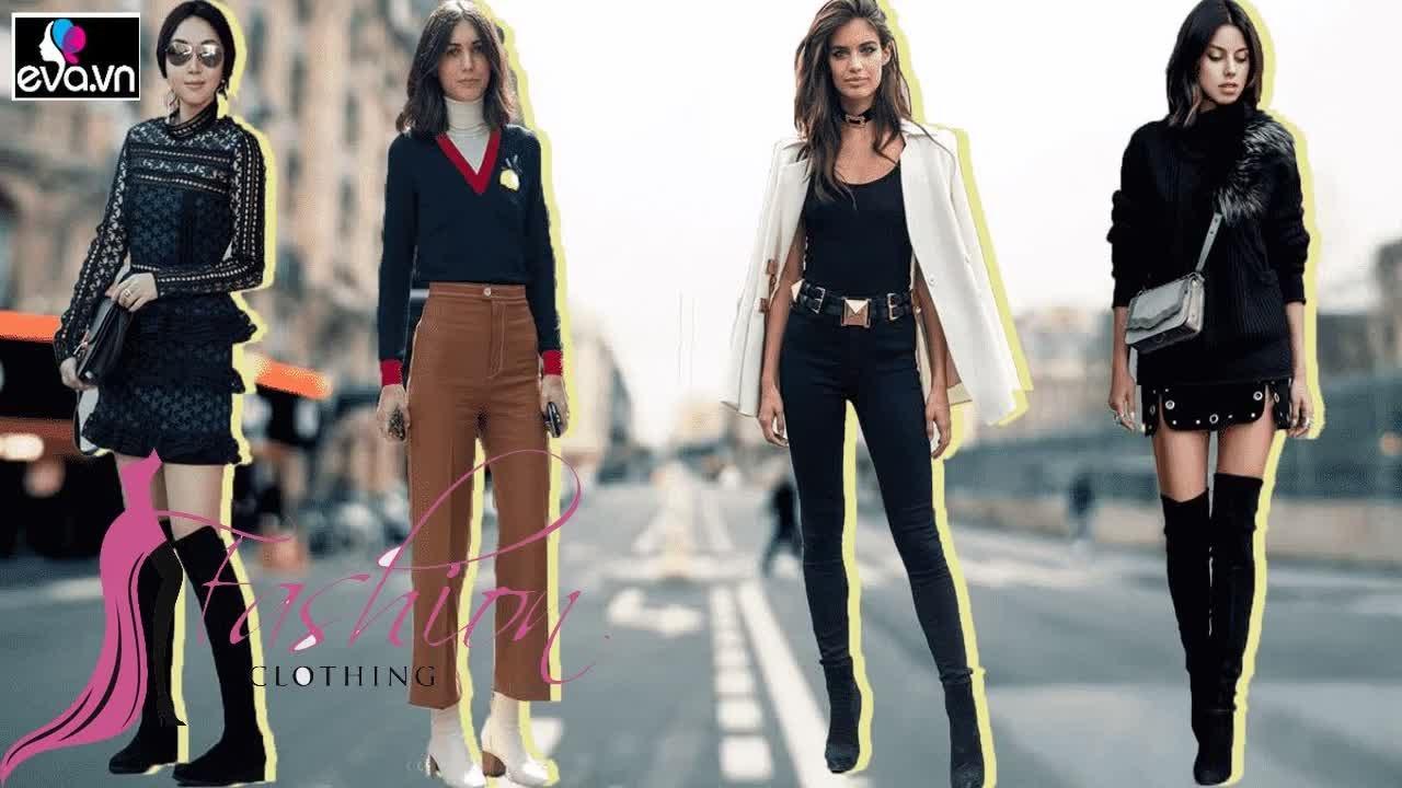 Giày boots nữ mặc đồ gì? Cách kết hợp boots cổ ngắn, cổ dài với váy áo – Thời Trang Đẹp & Săn Khuyến