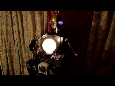 The Aetherologist - an interactive steampunk automaton