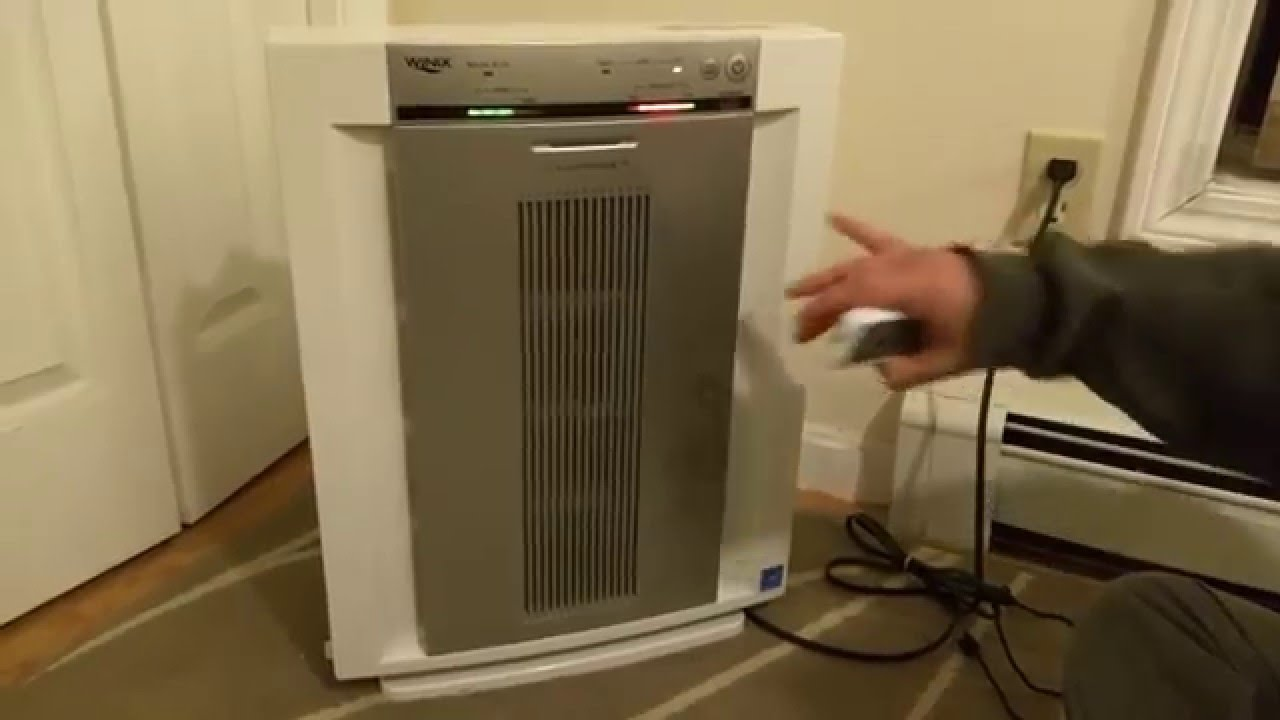 Winix Plasmawave 5300 Air Cleaner Model Review Youtube